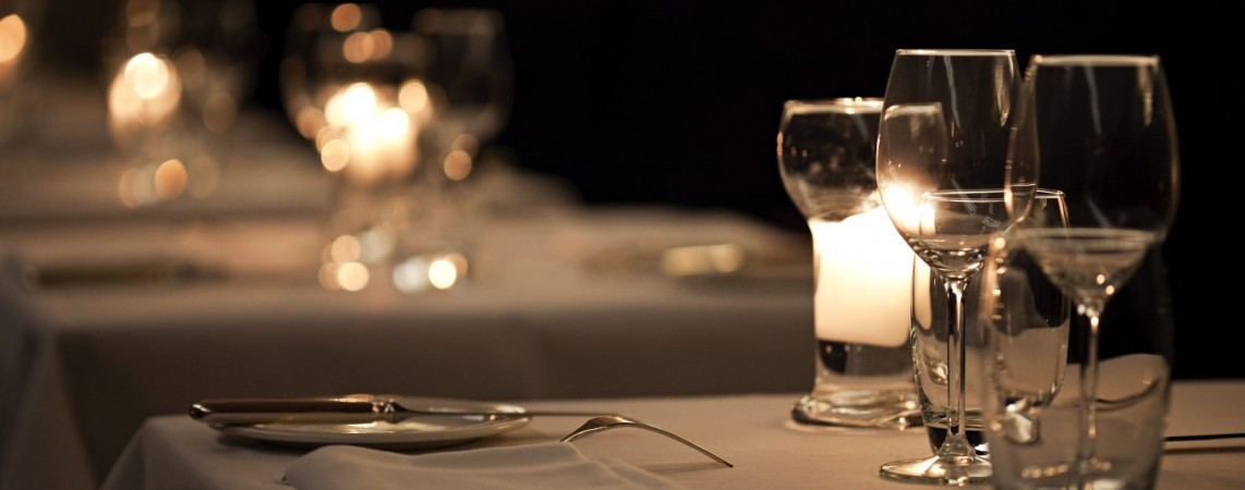 Romantic restaurant London
